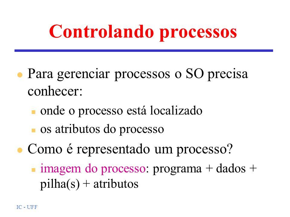 Controlando processos