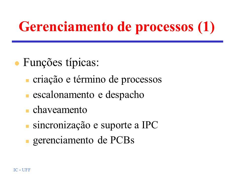 Gerenciamento de processos (1)
