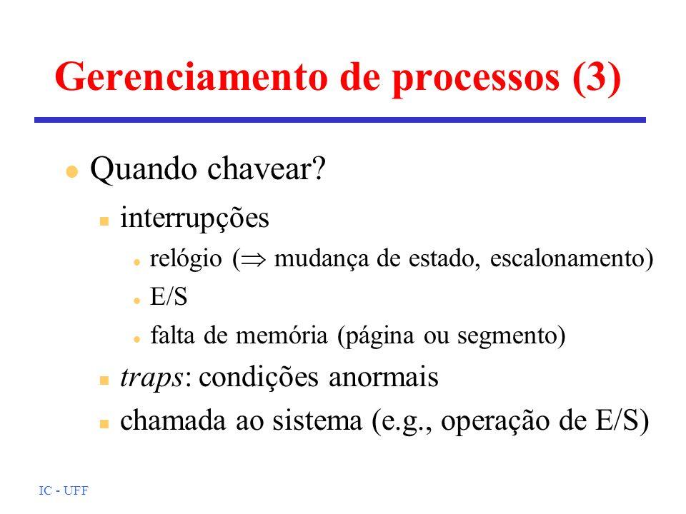 Gerenciamento de processos (3)
