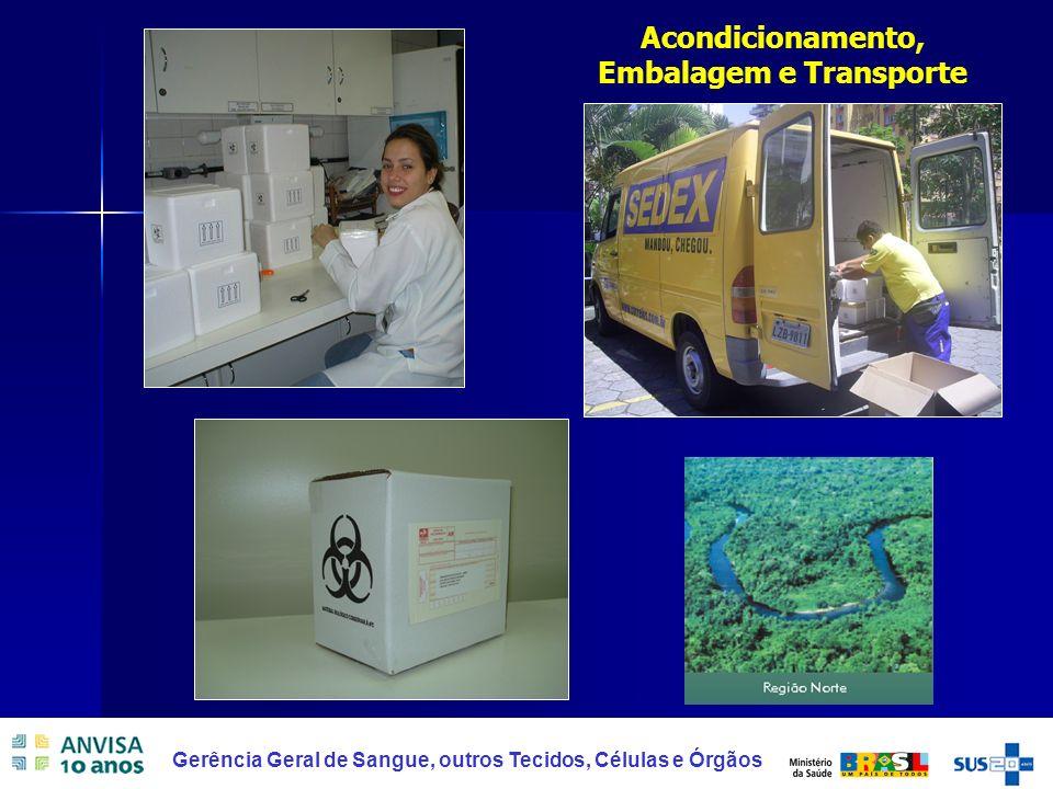 Acondicionamento, Embalagem e Transporte