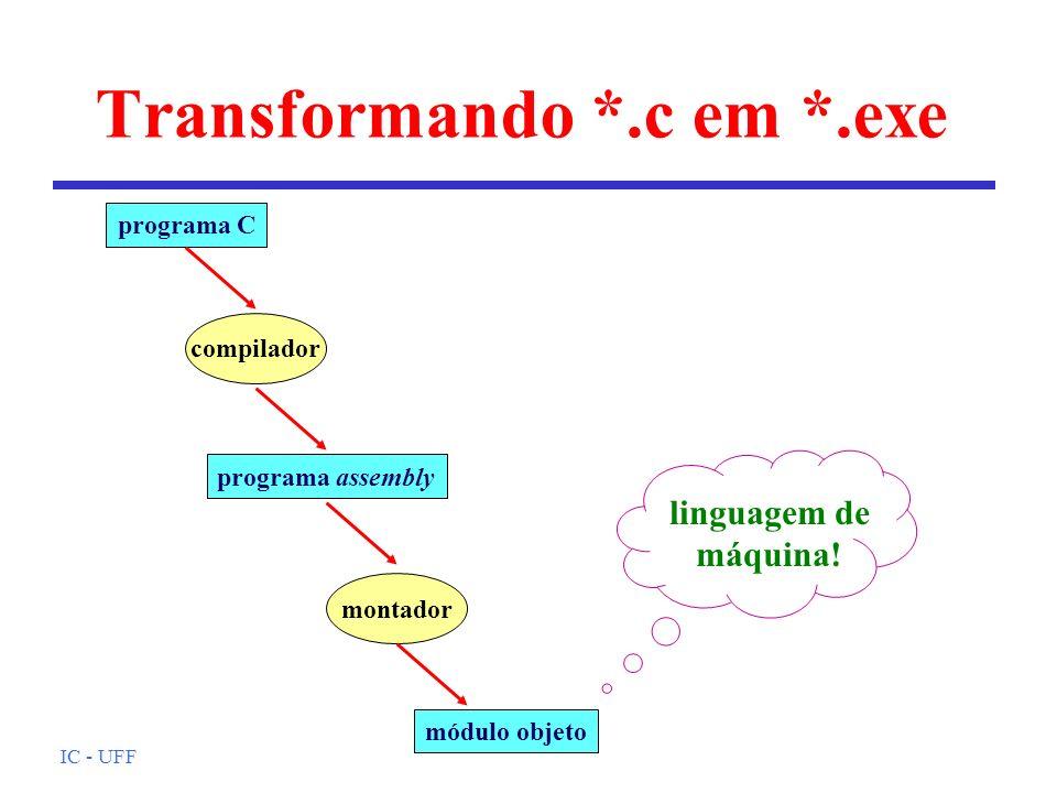 Transformando *.c em *.exe