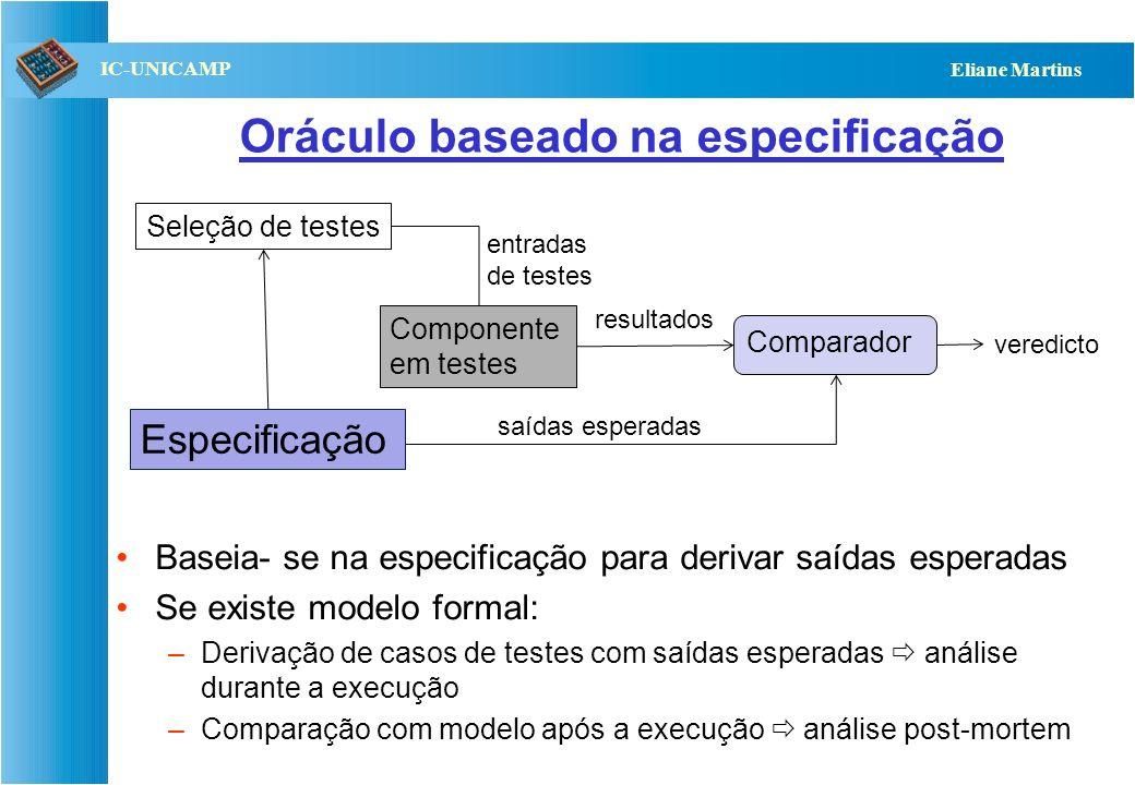 Oráculo baseado na especificação
