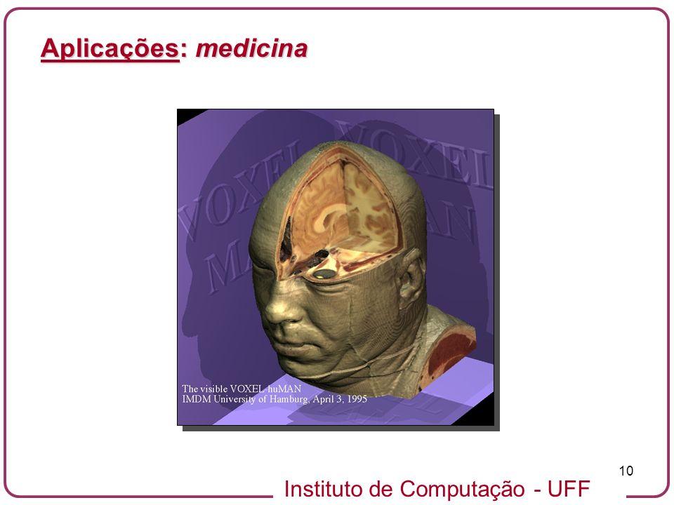 Aplicações: medicina