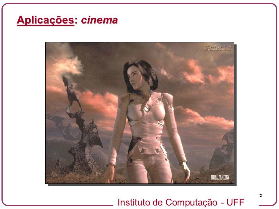Aplicações: cinema