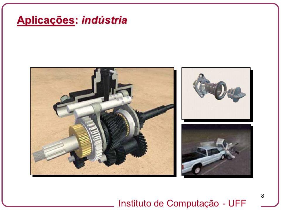 Aplicações: indústria