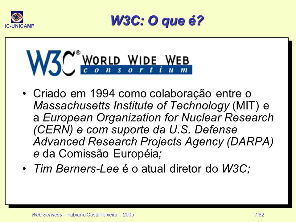 W3C: O que é