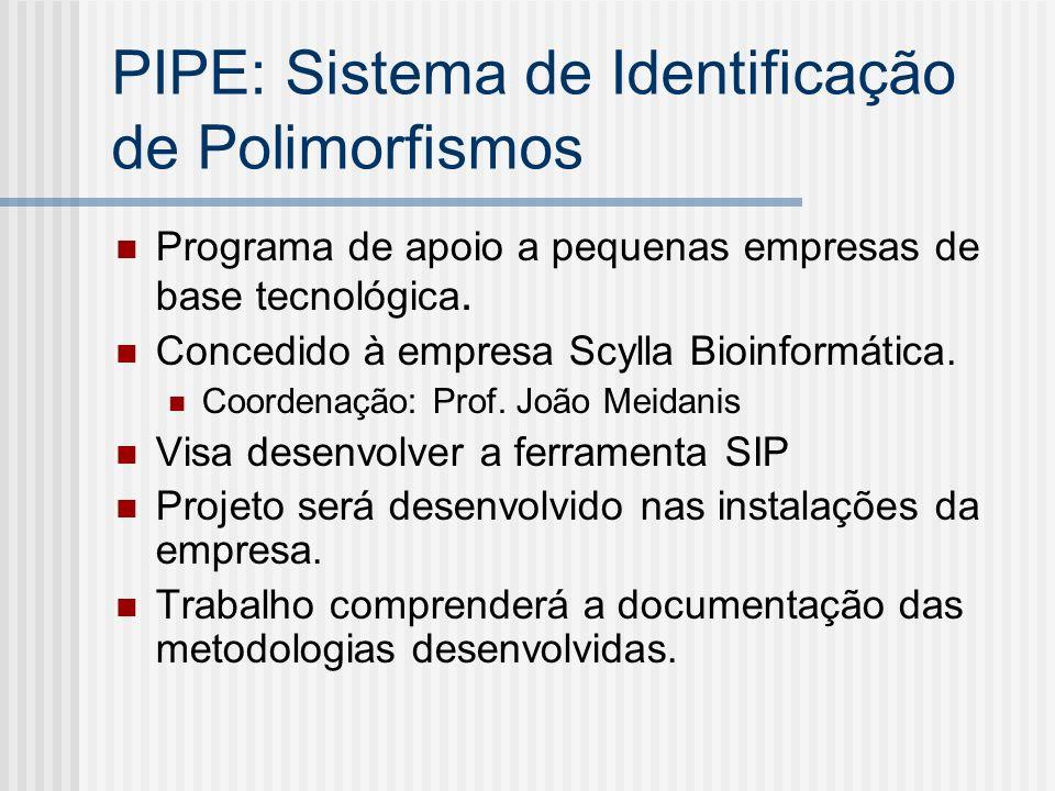 PIPE: Sistema de Identificação de Polimorfismos