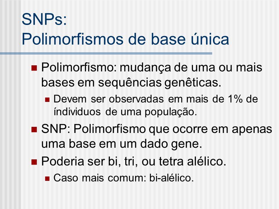 SNPs: Polimorfismos de base única