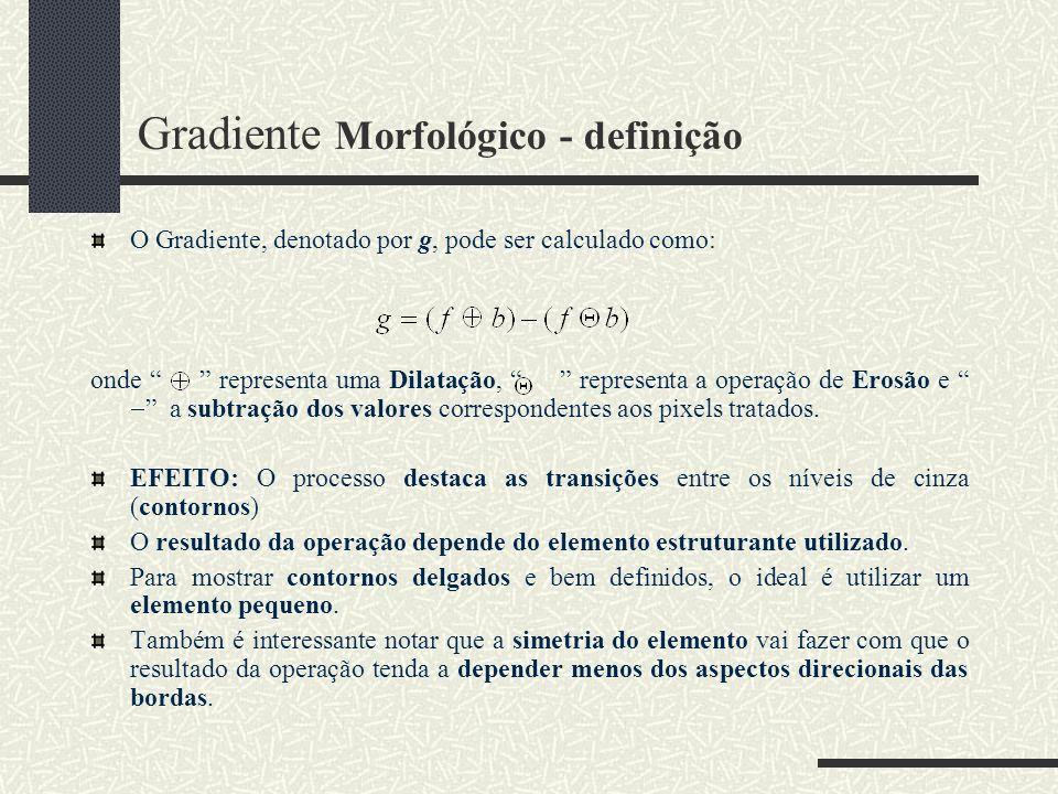 Gradiente Morfológico - definição