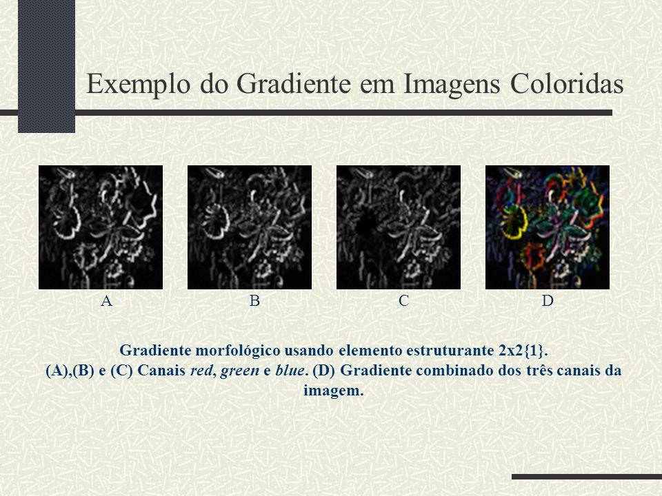 Exemplo do Gradiente em Imagens Coloridas