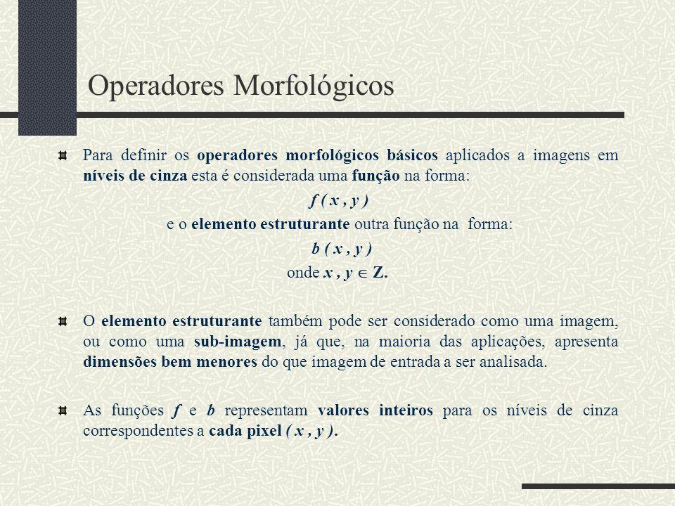 Operadores Morfológicos