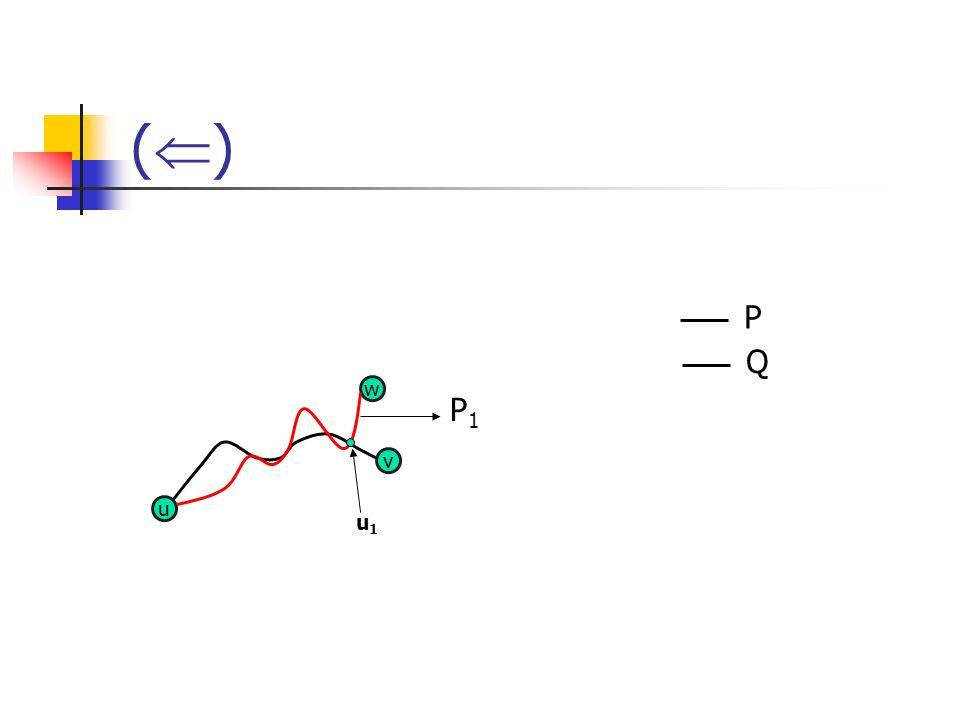 () P Q w P1 v u u1