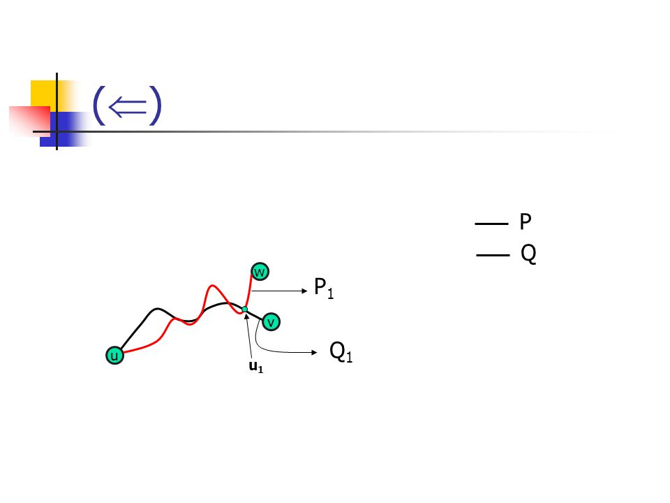 () P Q w P1 v Q1 u u1