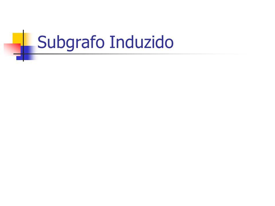 Subgrafo Induzido