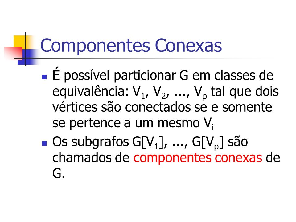 Componentes Conexas