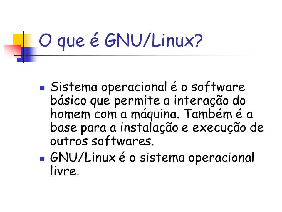 O que é GNU/Linux