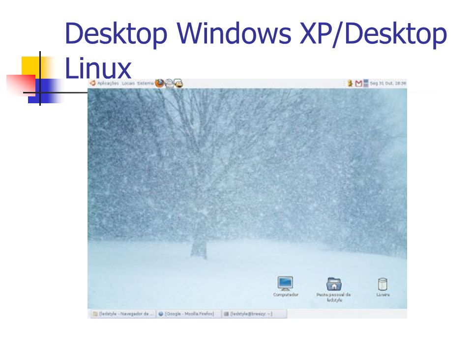 Desktop Windows XP/Desktop Linux