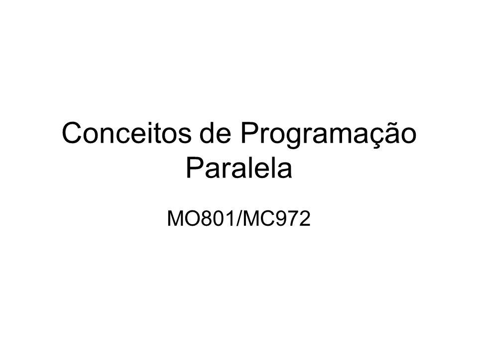 Conceitos de Programação Paralela
