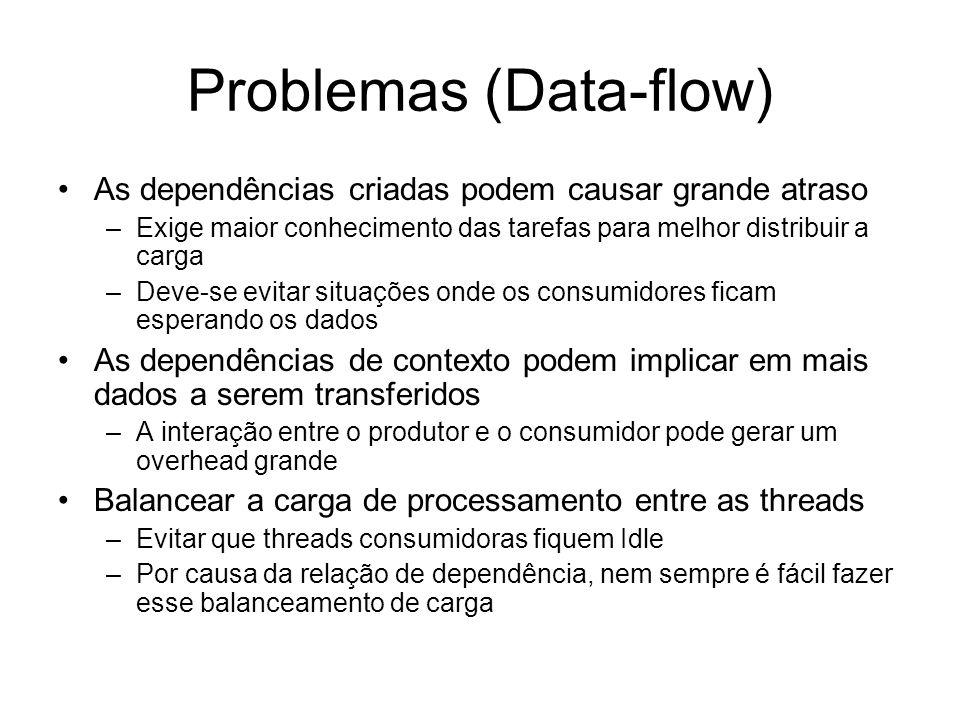 Problemas (Data-flow)
