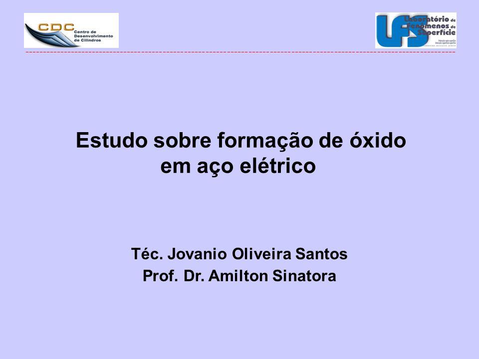 Estudo sobre formação de óxido em aço elétrico
