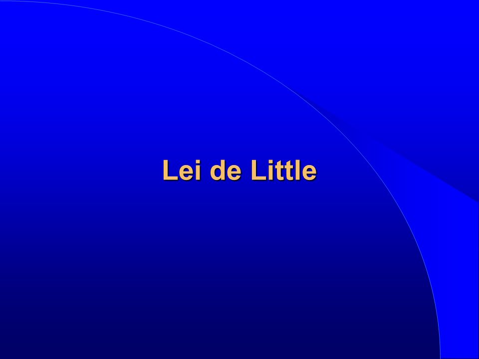 Lei de Little