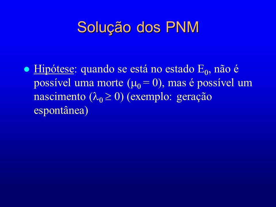 Solução dos PNM