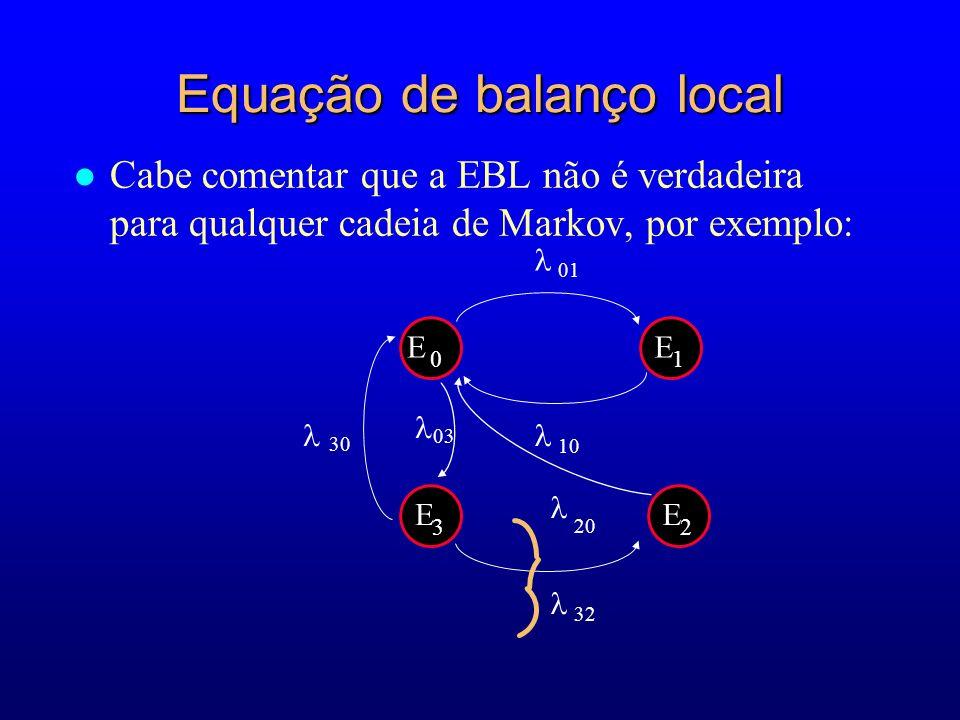 Equação de balanço local