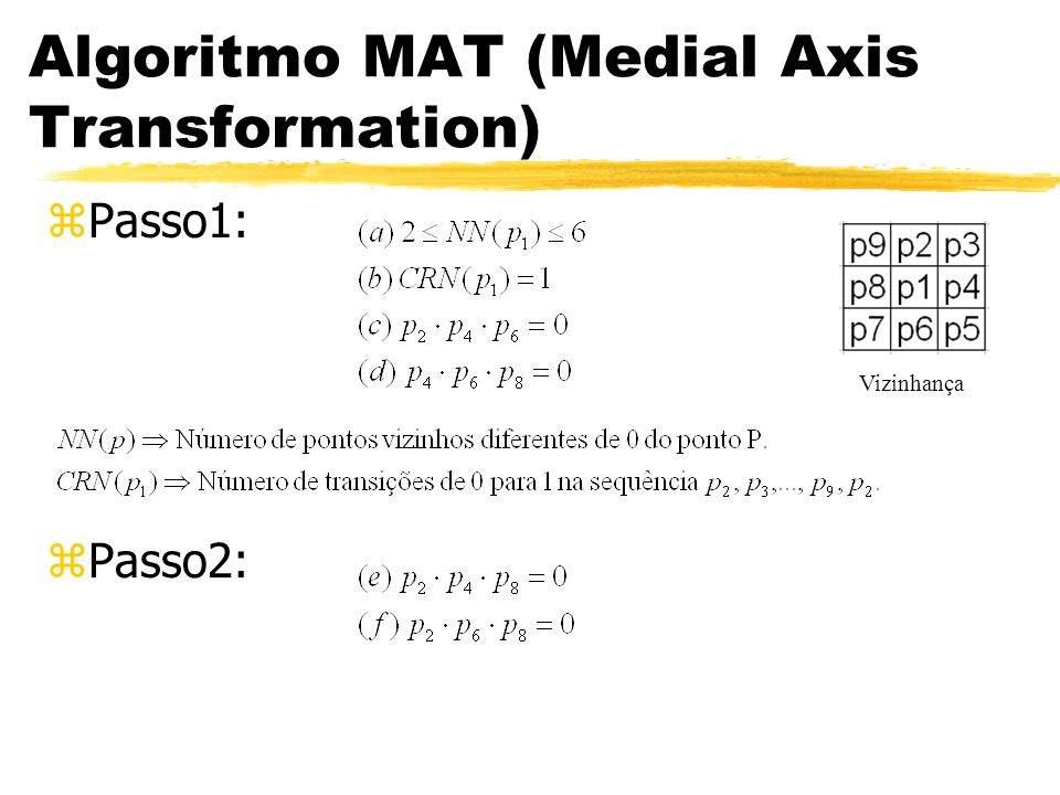 Algoritmo MAT (Medial Axis Transformation)