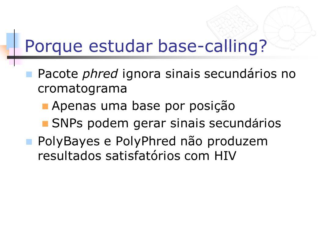 Porque estudar base-calling