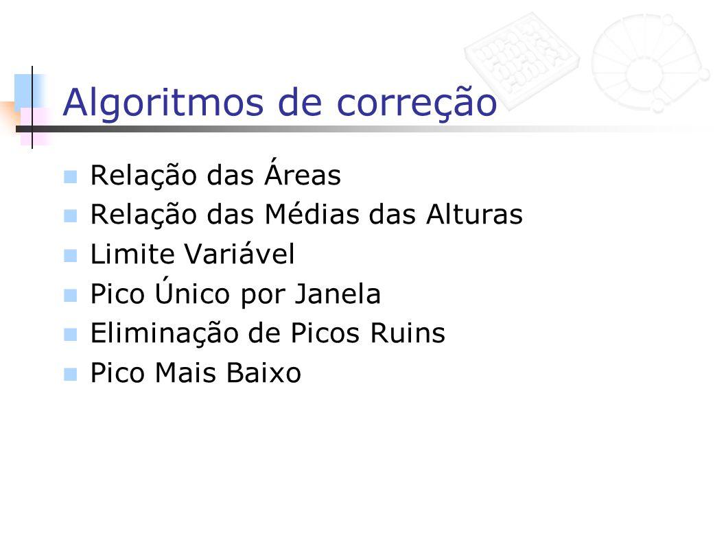 Algoritmos de correção