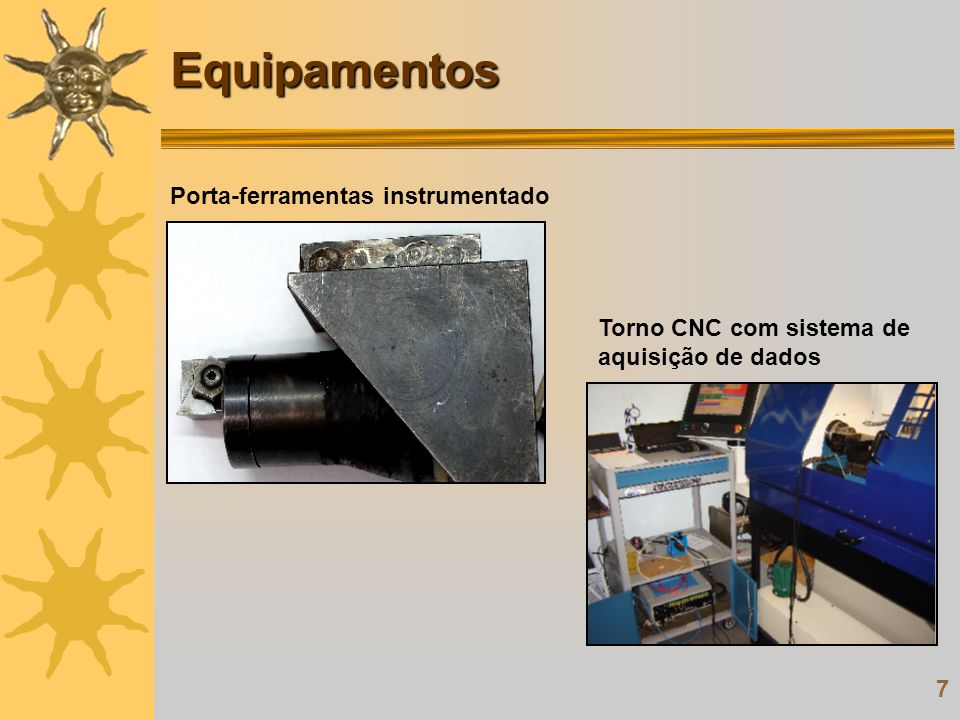 Equipamentos Porta-ferramentas instrumentado