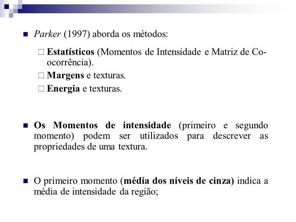 Parker (1997) aborda os métodos: