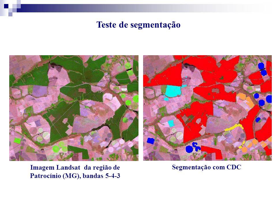 Imagem Landsat da região de Patrocínio (MG), bandas 5-4-3
