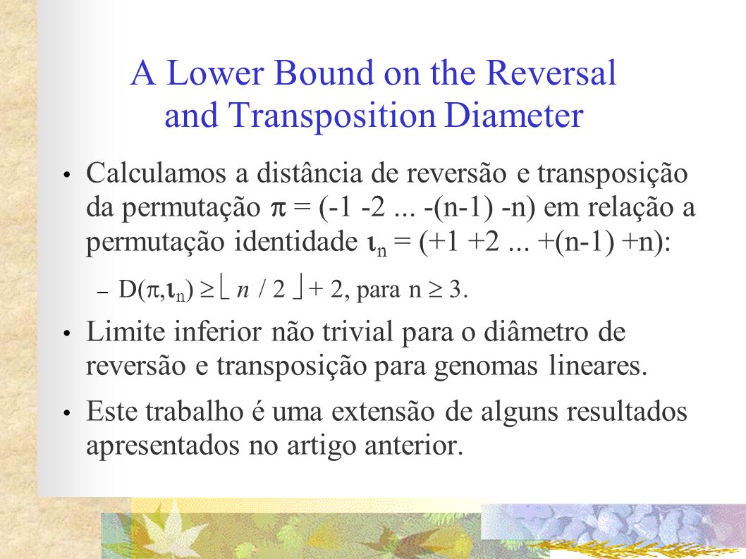 A Lower Bound on the Reversal and Transposition Diameter