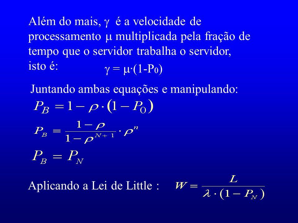 Juntando ambas equações e manipulando: