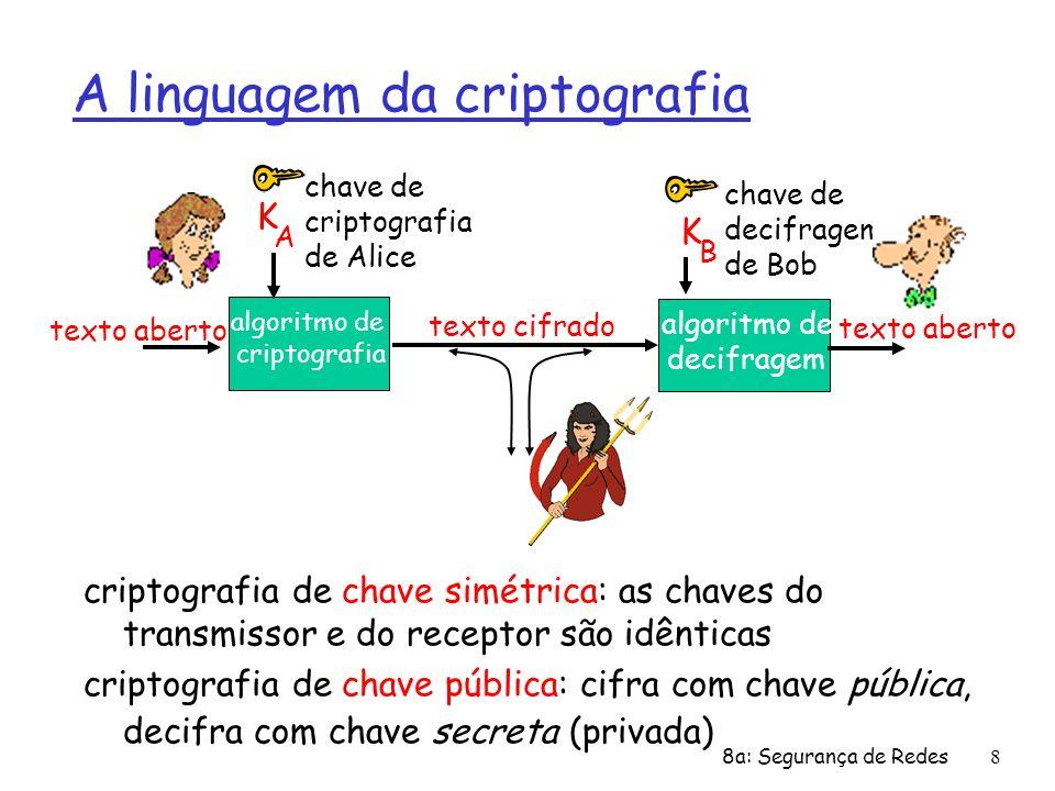 A linguagem da criptografia