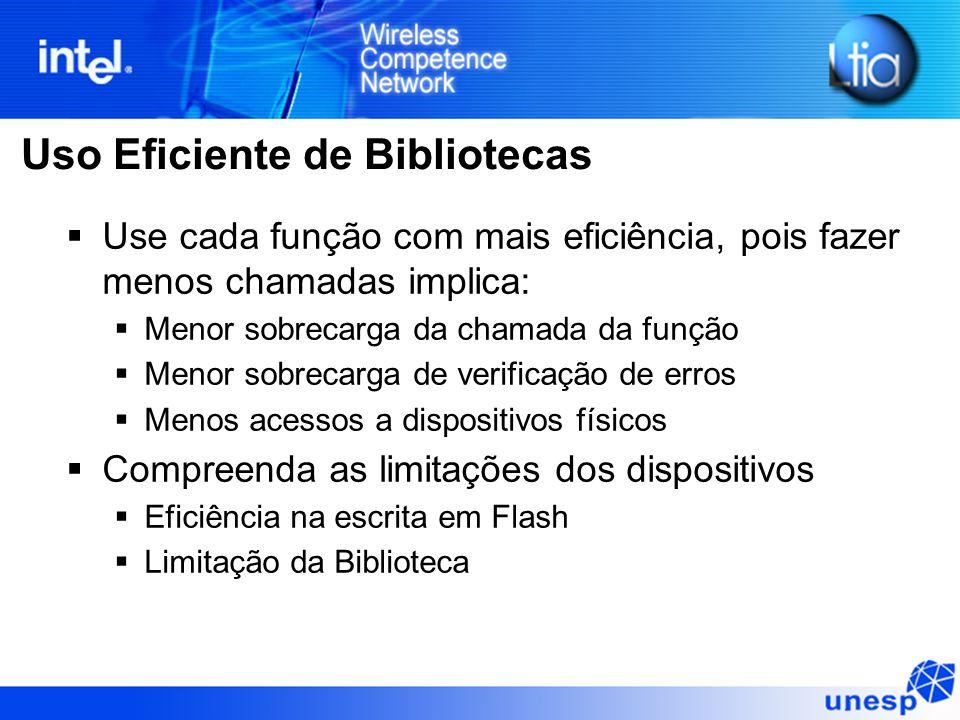 Uso Eficiente de Bibliotecas