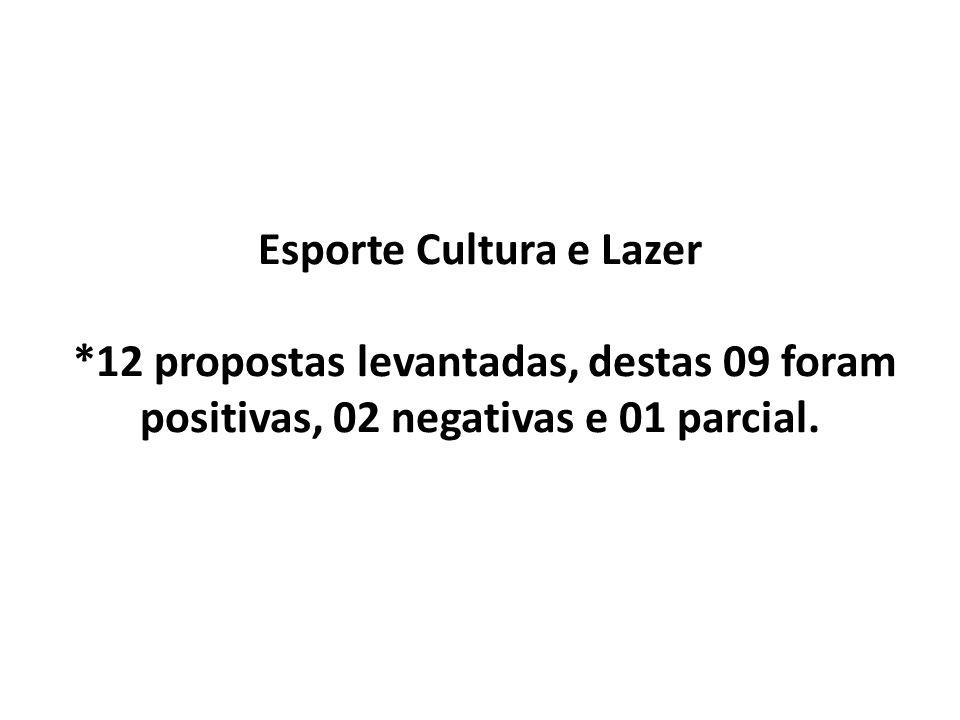 Esporte Cultura e Lazer