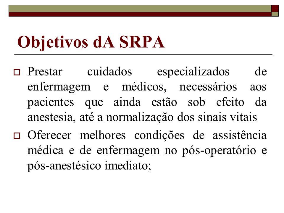 Objetivos dA SRPA