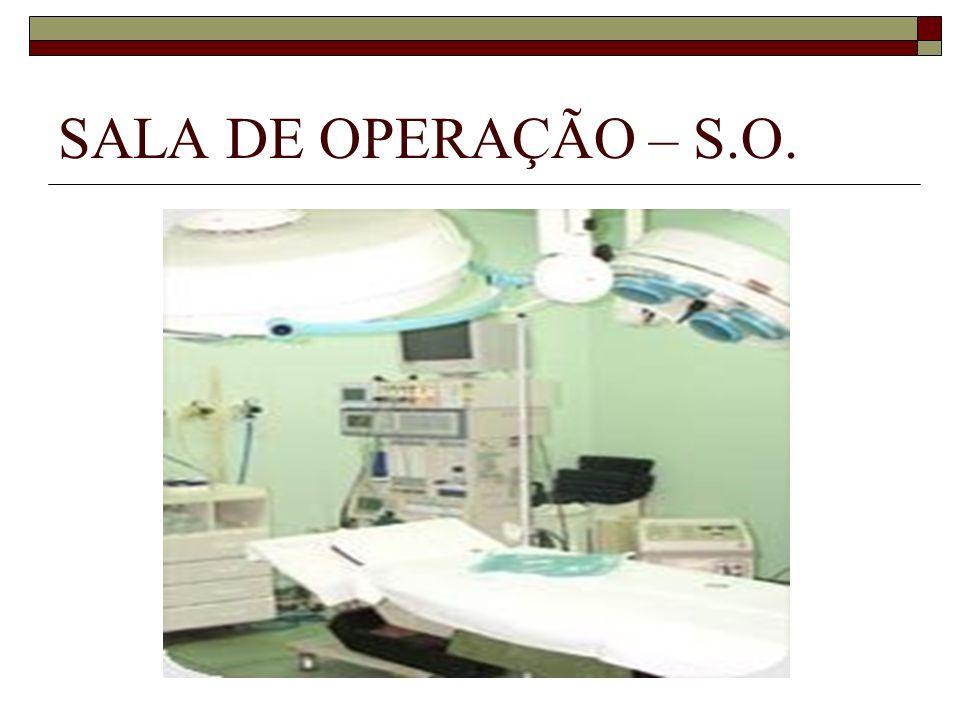 SALA DE OPERAÇÃO – S.O.