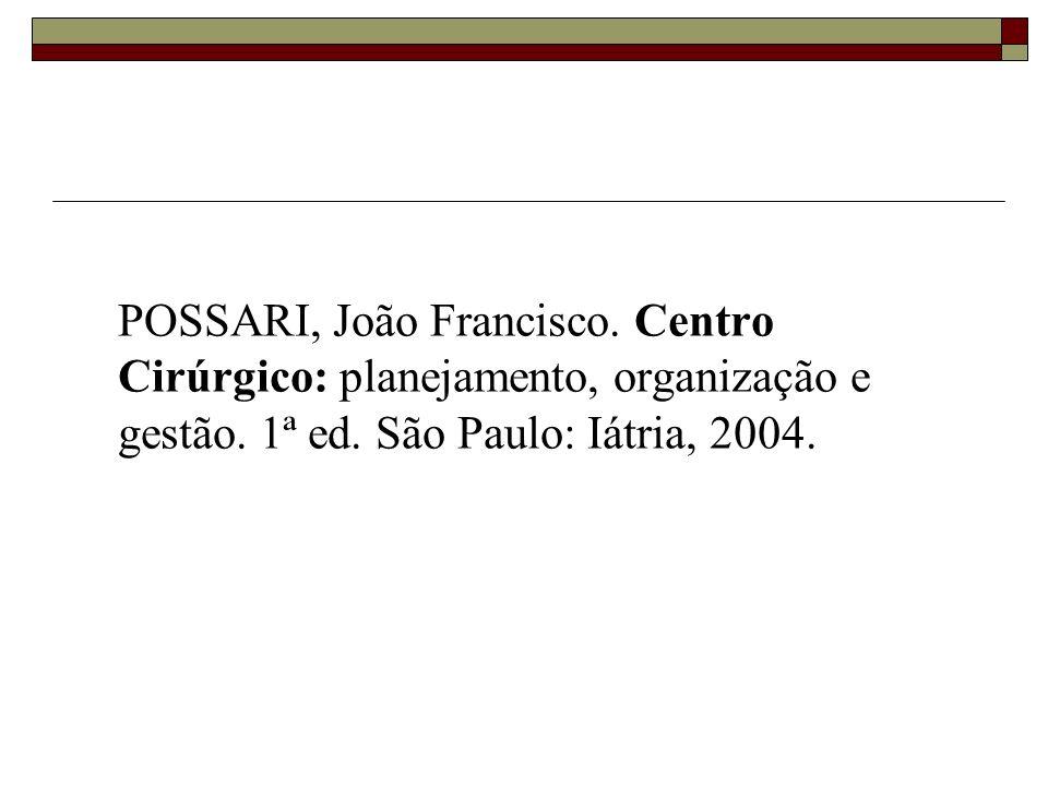 POSSARI, João Francisco