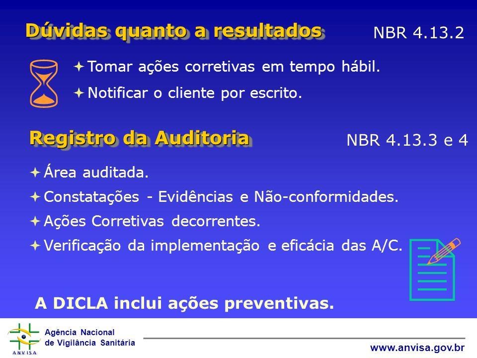 A DICLA inclui ações preventivas.
