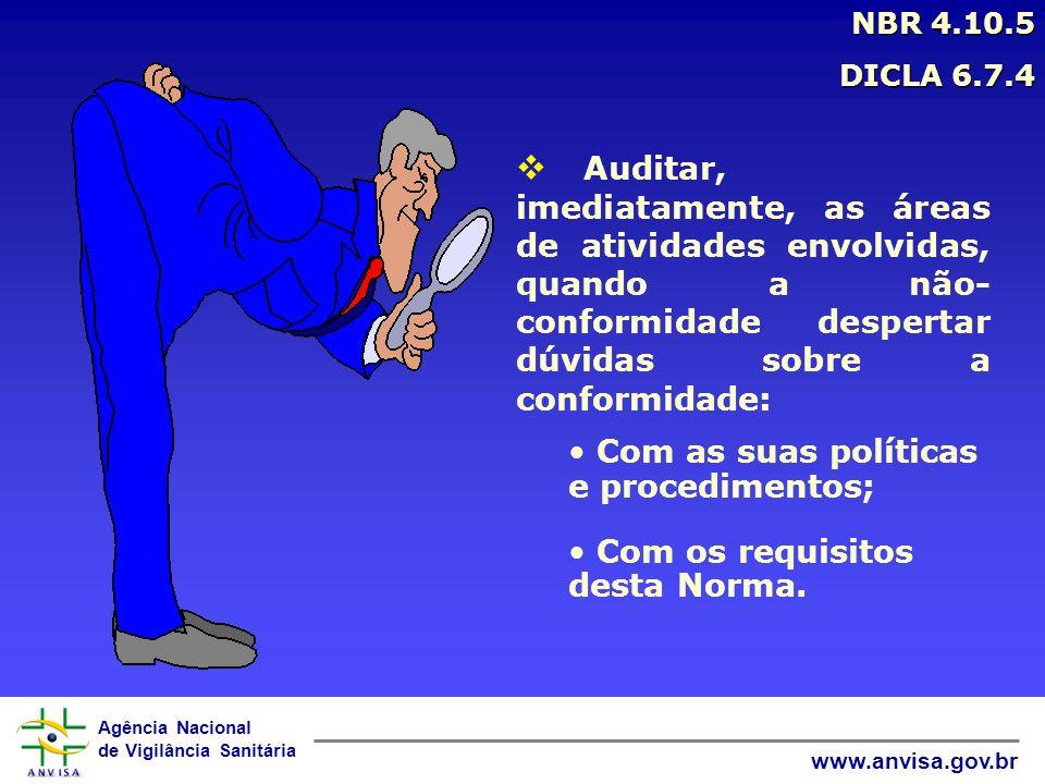 NBR 4.10.5 DICLA 6.7.4.