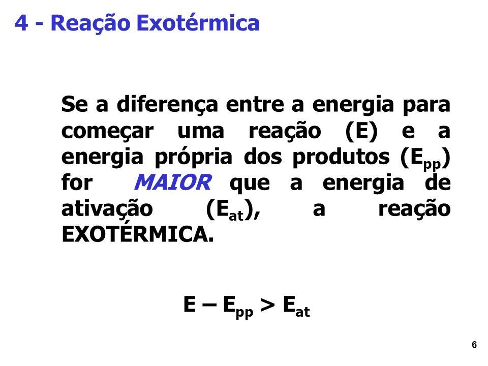 4 - Reação Exotérmica