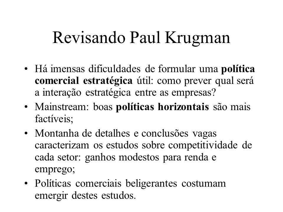 Revisando Paul Krugman