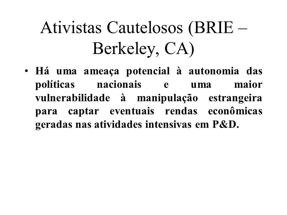 Ativistas Cautelosos (BRIE – Berkeley, CA)