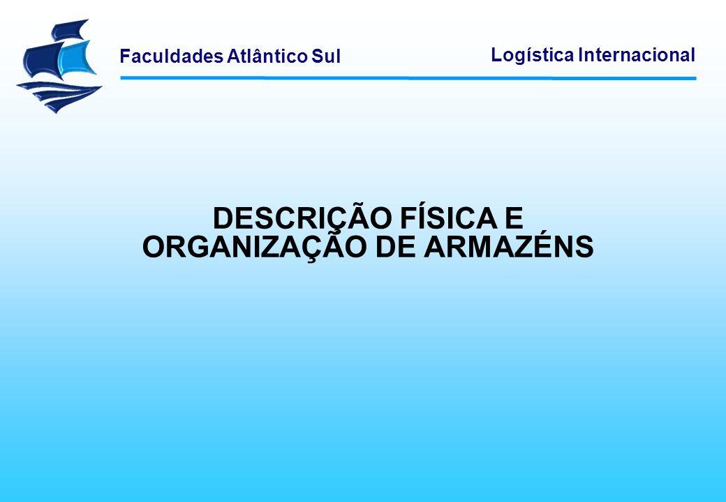 ORGANIZAÇÃO DE ARMAZÉNS