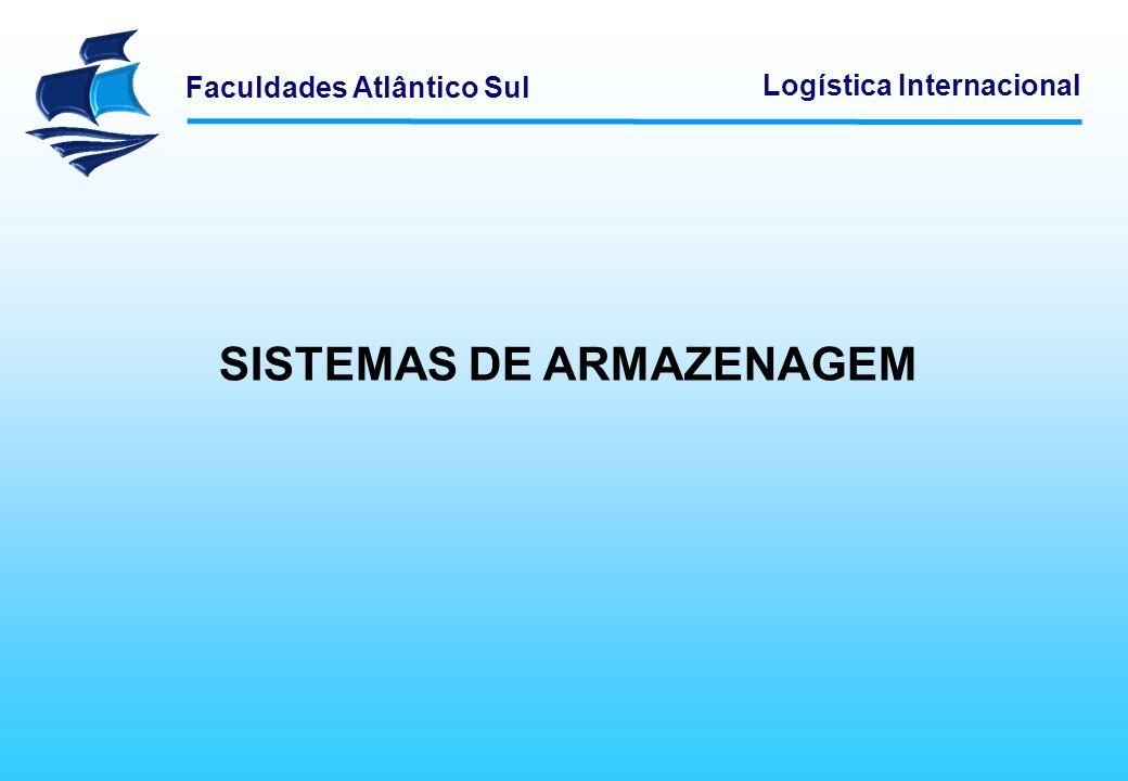 SISTEMAS DE ARMAZENAGEM