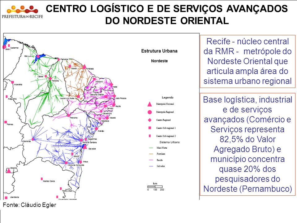 CENTRO LOGÍSTICO E DE SERVIÇOS AVANÇADOS DO NORDESTE ORIENTAL