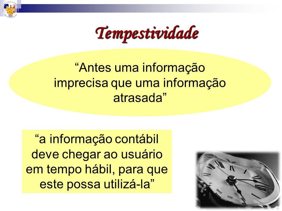 Antes uma informação imprecisa que uma informação atrasada